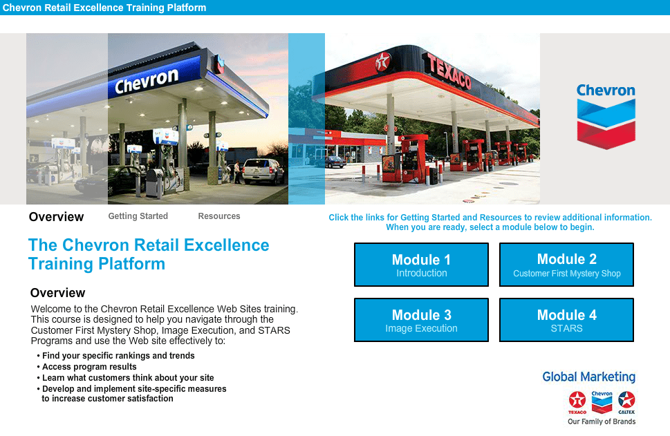 Chevron Retail Excellence