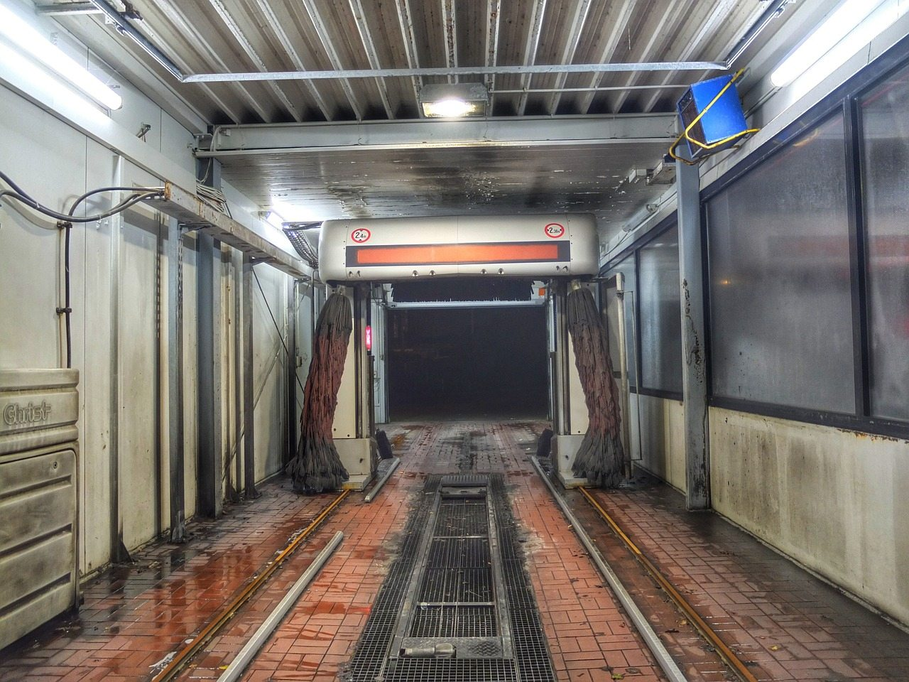 Buying a self service car wash with a business plan