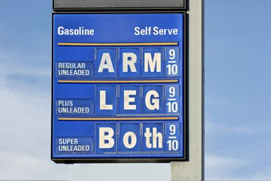 Gas price hikes during emergencies can lead to fines for price gouging