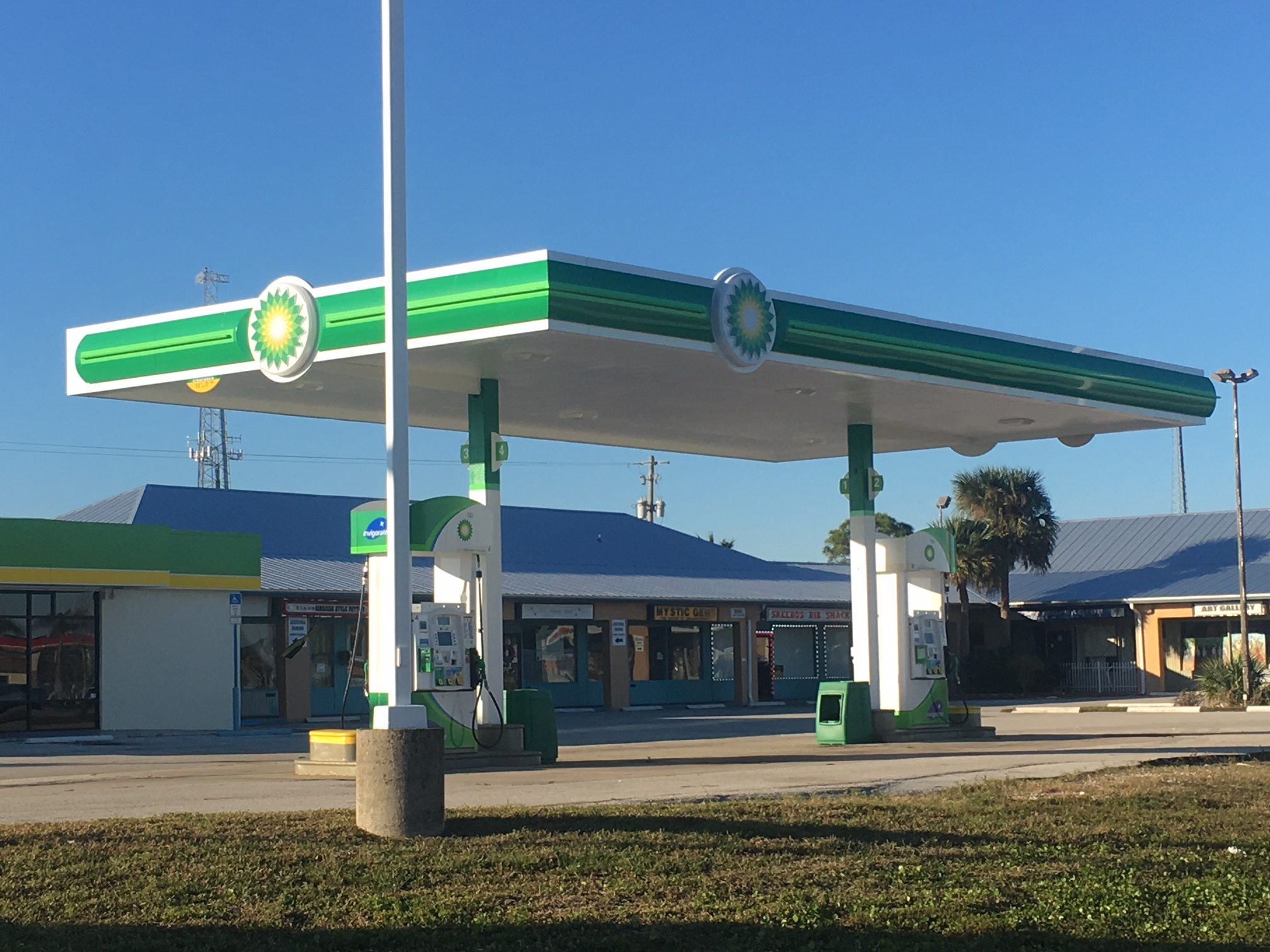 bp gas station business for lease convenience store harris ave palm