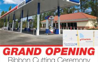 Amoco Gas Station Grand Opening Jacksonville Florida